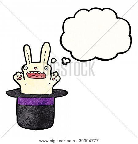 cartoon rabbit in top hat
