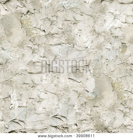 Seamless rough plaster texture closeup background.