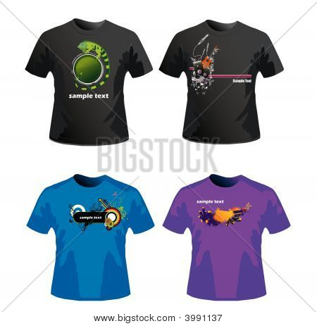 Shirts Vector Illustration Vector