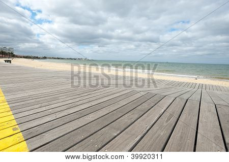 St Kilda Boardwalk, Australia