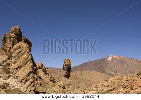 Barren Mountain Landscape