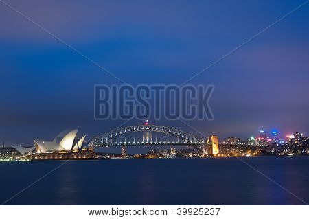 Sydney Australia Skyline