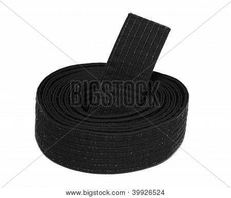 Coiled Karate Black Belt