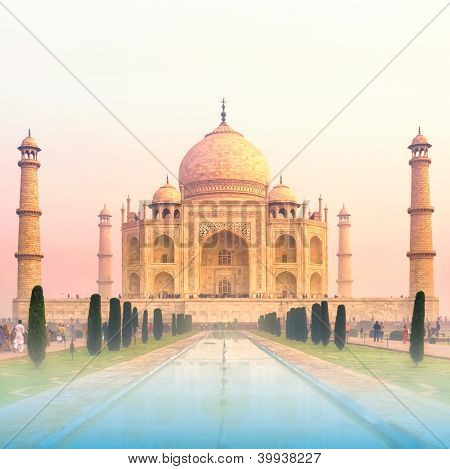 Taj Mahal Sunrise, India