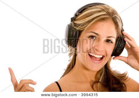Music On Headphones