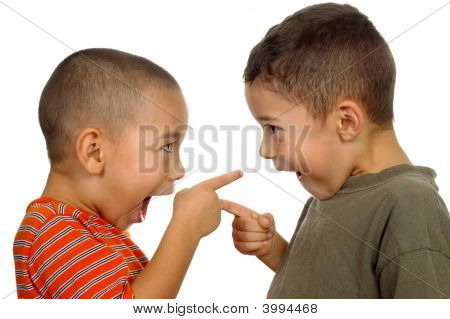 Kids Arguing 4 And 5 Years Old