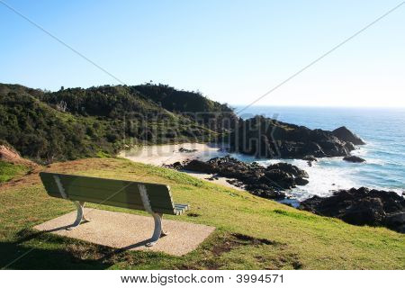 Park Bench Seaview