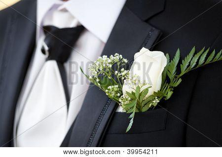 Buttonhole Of Bridegroom