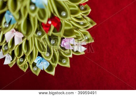 Handmade Fabric Christmas Tree