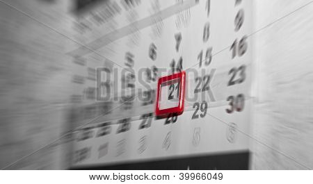 Calendar Of 21 December 2012, End Of The World