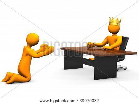Job Beggar Crown