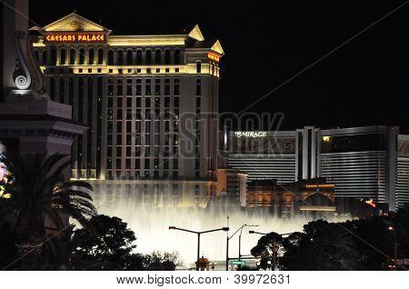 Fuentes del Bellagio en Las Vegas