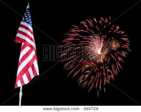 Flagge Fireworks 1