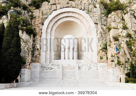 War Memorial,nice,france