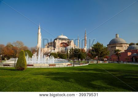 Aya Sofia. Istanbul, Turkey