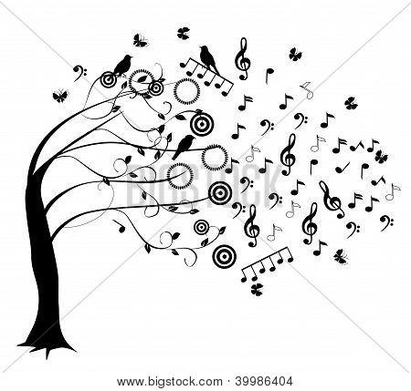 Árvore ao vento