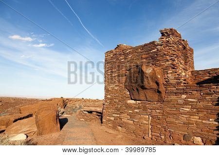 Wupatki National Monument in Arizona