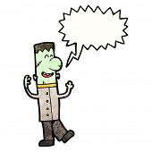picture of frankenstein  - cartoon frankenstein monster - JPG