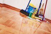 stock photo of housekeeper  - House cleaning  - JPG