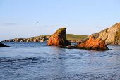 pic of safe haven  - On the west of the mainland of the shetland islands just below the famous St Ninians isle is this wonderful little bay - JPG