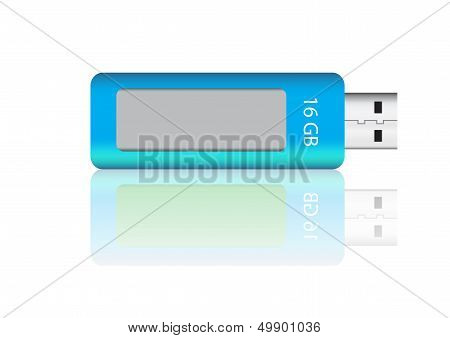USB flash drive vector images
