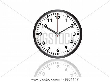 wall clock vector images