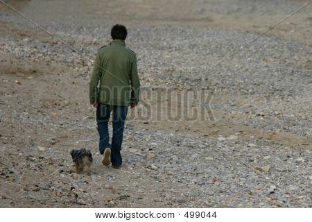 Boy & Dog