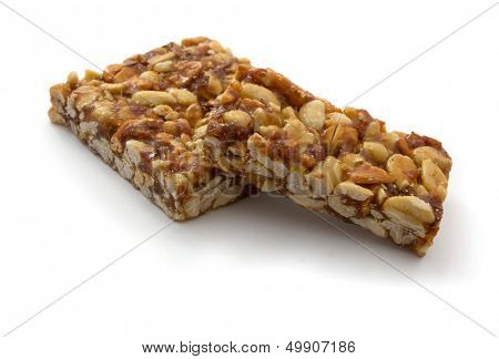 Gozinaki - traditional Georgian confection made of caramelized nuts