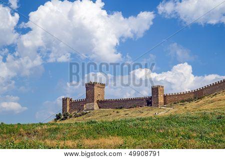 Genoese fortress. Crimea. Sudak