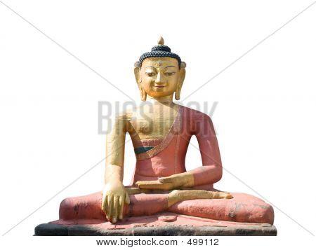 Dhyani Buddha Aksobhya-Statue