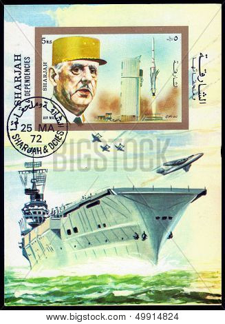 Charles De Gaulle And Aircraft Carrier