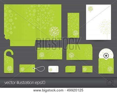 Stationery design vector eps10