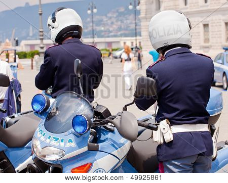Italian Police Motorcycles