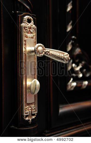 Beautiful Door Handle Closeup