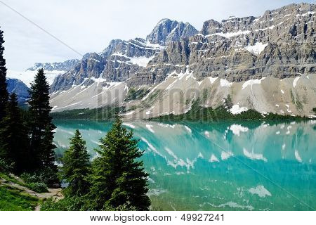 Lake in Banff National Park