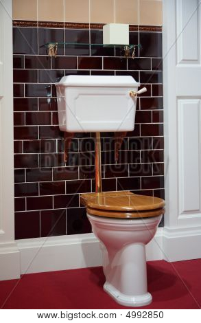 Toilet In Old-fashioned Style