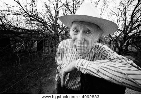 Rancher With Sad Eyes