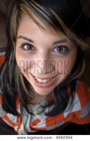 Smiling Young Spanish Woman