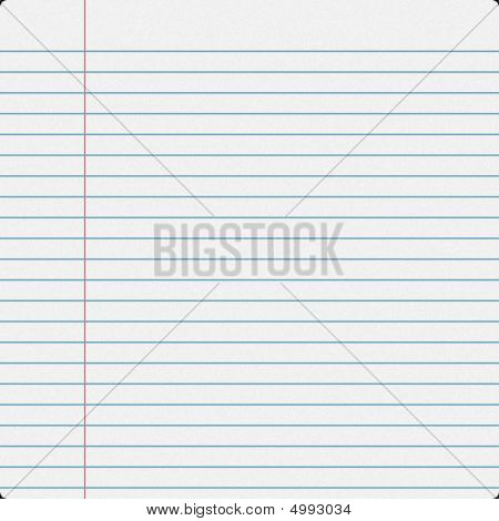 Notebook Filler Paper
