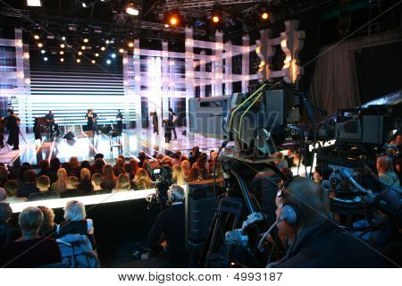 Cameraman On Tv Show
