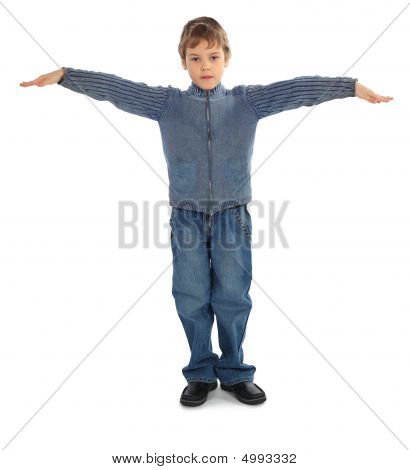 Boy Represent  Letter T