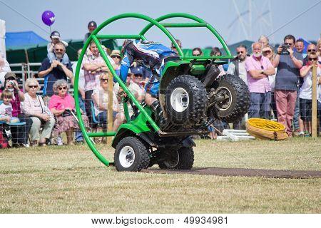 Stunt driving performance