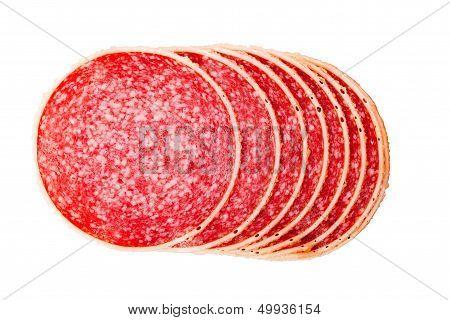 Salami In Parmesan