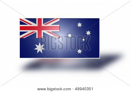 Flag Of Australia (stylized I).