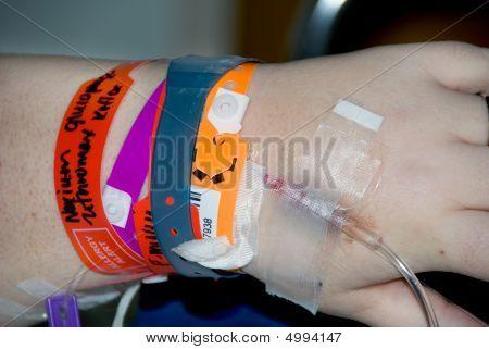 Hospital Patient Iv