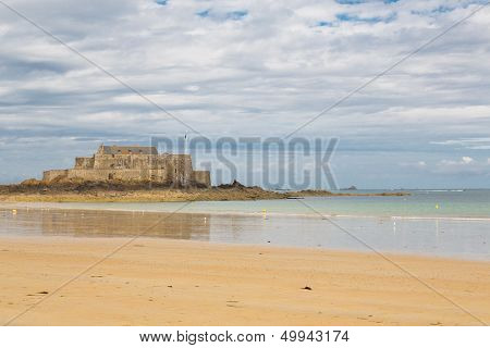 Fort National In Saint Malo, France