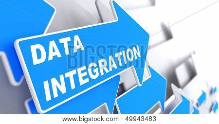 Data Integration. Information Concept.