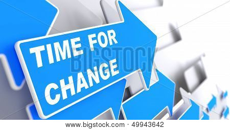 Time For Change. Business Concept.