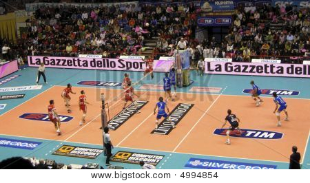 Volleyball - Piacenza Vs Cuneo