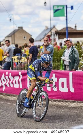 The Australian Cyclist Jonathan Cantwell